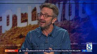 """Glow"" Star Marc Maron on the New Comedy Film ""Sword of Trust"""