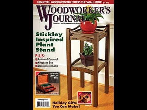 Woodworker's Journal November/December 2015 Issue Preview