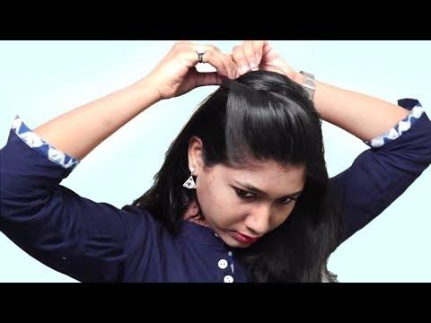 new-latest-self-hairstyles-for-medium-hair-|-self-hairstyle-step-by-step-tutorial-|-self-hairstyles