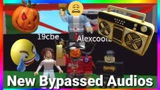 [57] ROBLOX NEW BYPASSED AUDIOS WORKING 2019