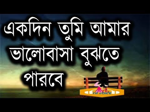 Ekdin Tumi Amar Valobasha Bujta Parba | Valobashar Golpo With Sad Voice