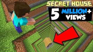 I MADE A SECRET HOUSE NO ONE WILL ABLE TO FIND   MINECRAFT IN HINDI GAMEPLAY   AYUSH MORE screenshot 1