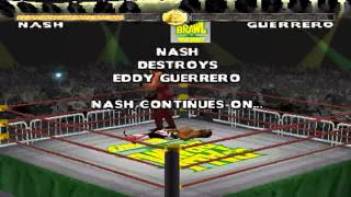 WCW Nitro PS1 1080P HD Playthrough - with KEVIN NASH PT. 1