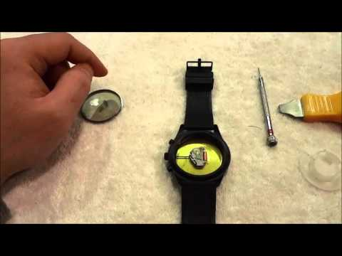 Replacing The Battery In A Kenneth Cole Watch (DIY)