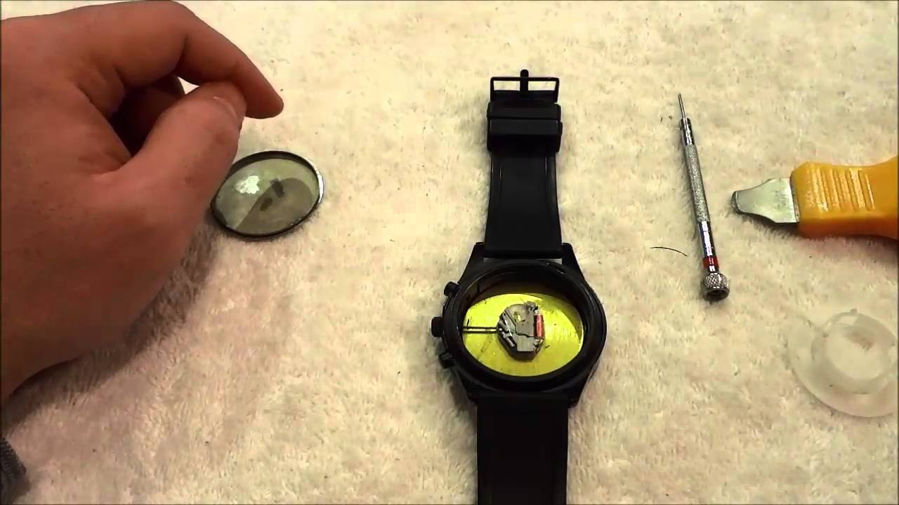 kenneth cole a126-13 how to change battery