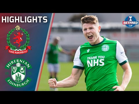 Cove Rangers Hibernian Goals And Highlights