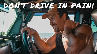 SPENDING TIME BEHIND THE WHEEL? - DO THESE EXERCISES! Overlanders/Van Life/Grey Nomads/Tourers