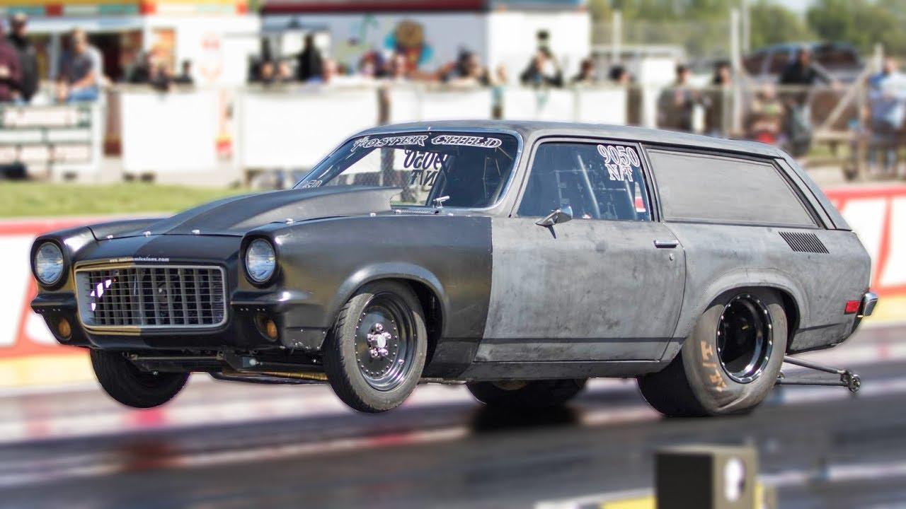 Vega Wagon – Big Block on Nitrous | DragTimes com Drag Racing, Fast