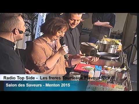 Salon de Saveurs 2015   Part 13  12h45 Les freres Tourteaux Flaveur à Nice