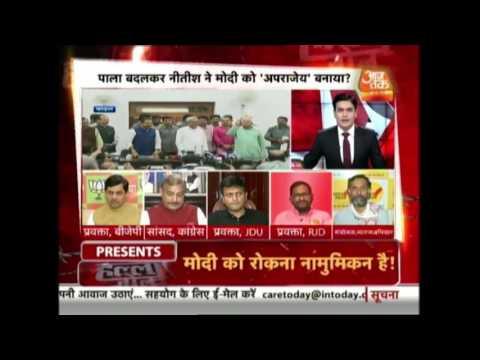 Halla Bol: Lalu Prasad Accuses Nitish Kumar Of Betrayal