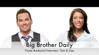 big brother canada bb daily backyard finale interview tom liza