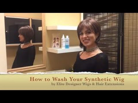 How To Clean Your Synthetic Wig;  Elite Designer Wigs And Hair Extensions