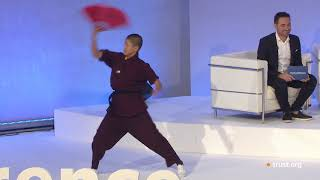 Extract Buddhist Kung Fu Nuns at Trust Conference 2017