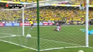 [HD] Colombia 2 - Paraguay 0 Eliminatorias Brasil 2014 SNT Paraguay