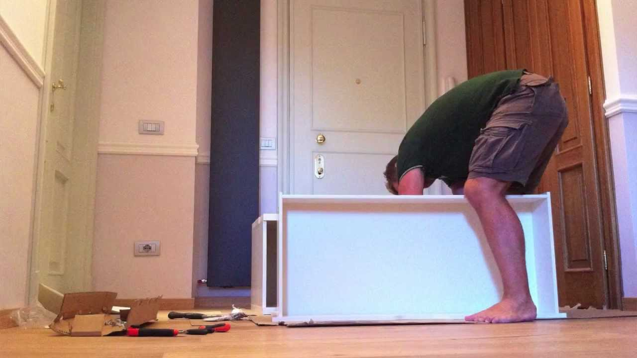 building ikea stolmen chest in stop motion hd with iphone4 - youtube
