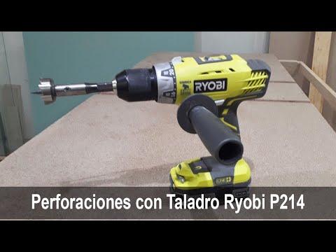 """Taladro de Percusión Ryobi P214 / 18V 1/2"""""""
