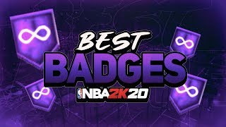 BEST BADGES in 2K20! Full in Depth Breakdown! (MUST WATCH)