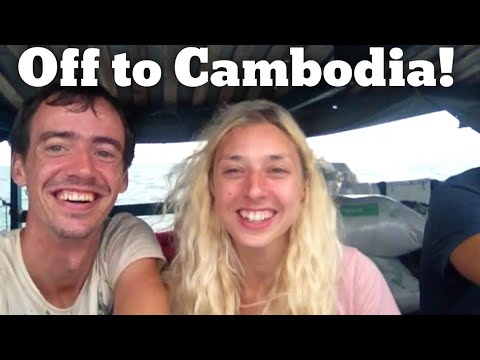 Getting the supply boat to Koh Rong Cambodia