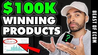 Sell These WINNING $100K Shopify Products NOW ! | Shopify Dropshipping