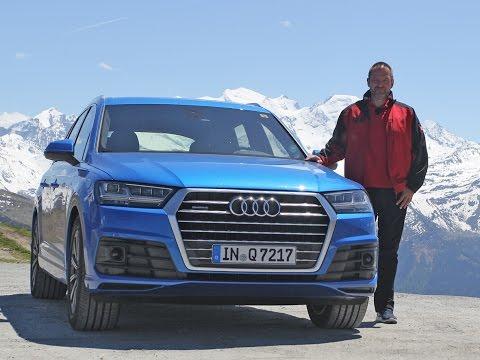 Audi Q7 3.0 TFSI Quattro Test - Fahrbericht 2015
