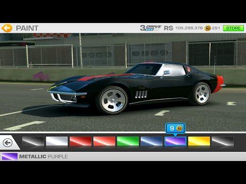 Chevrolet Corvette Stingray 427 '69 Real Racing 3 Full Review Showcase Gameplay