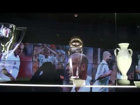 Museo Estadio Real Madrid (Santiago Benabéu -  España)