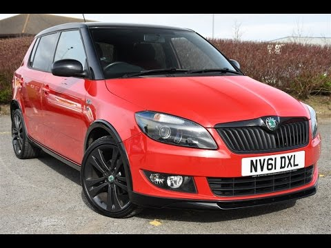 used skoda fabia monte carlo red 2012 youtube. Black Bedroom Furniture Sets. Home Design Ideas
