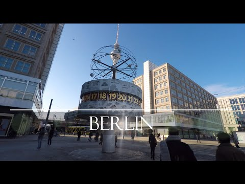 some Days in Berlin with Friends 2016 (GoPro) 4K
