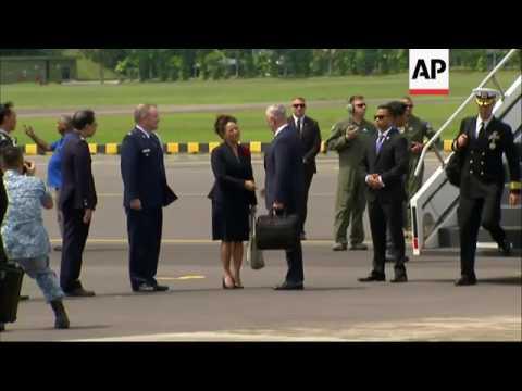 US Defense Secretary Mattis lands in Singapore