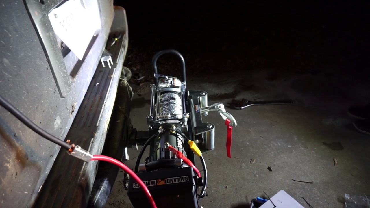 medium resolution of harbor freight winch install
