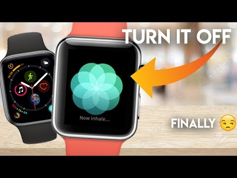 How To Turn Off Breathe Notifications On Apple Watch
