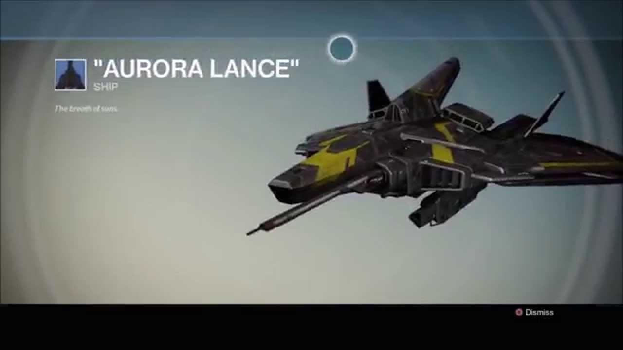 how to get the raid ship in destiny wotm