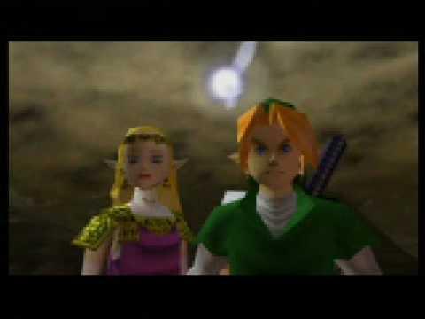 Legend Of Zelda Ocarina Of Time Final Ganon Fight Last Vid