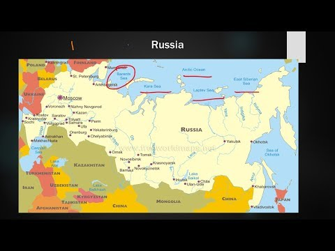 Part 6, Russia physical and Political Mapping Discussion