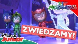 � Zabawa na Księżycu | Pidżamersi | Disney Junior Polska