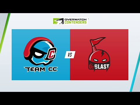 Team CC vs O2 Blast - Overwatch Contenders 2021 - Game 6