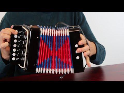 Mini Accordion Musical Instrument Toy