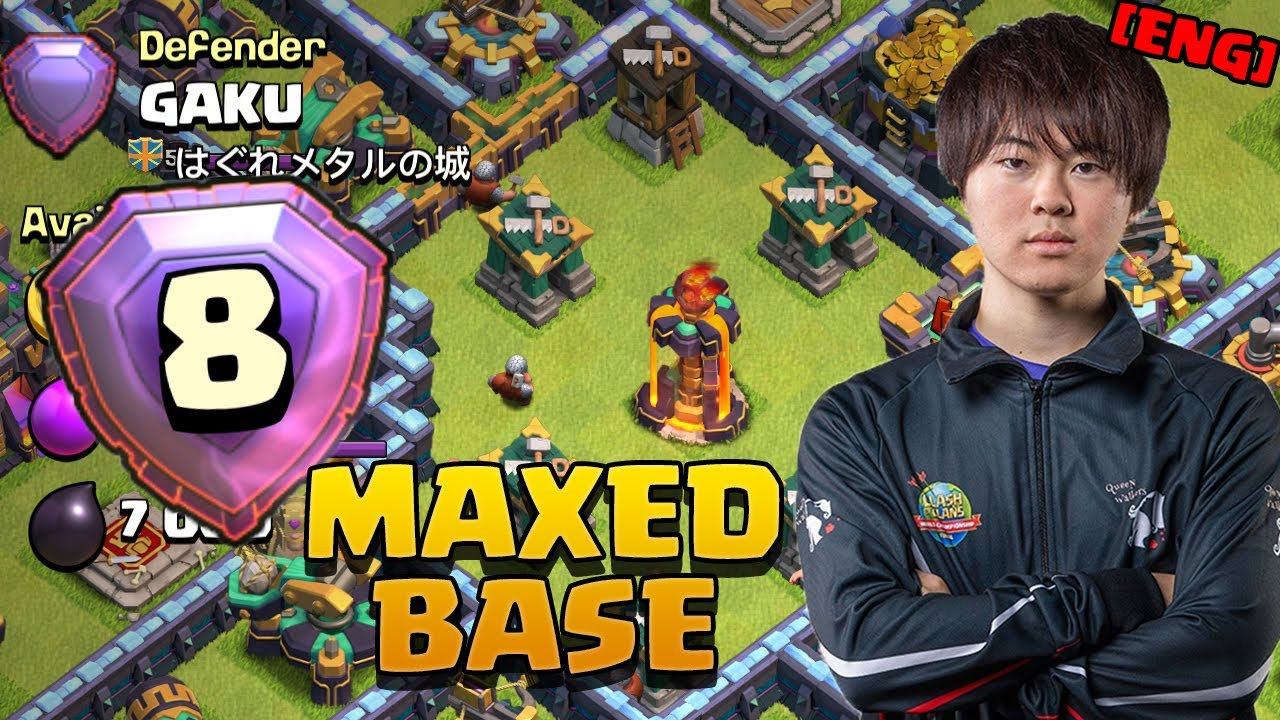 I found GAKU in Legends League | Pekka Smash vs EVERY Base Style | Clash of Clans English