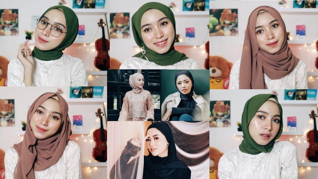Download Tutorial Hijab Ala Selebgram Simpel tapi Menarik Rachel Vennya Agnia