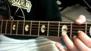 Red jumpsuit apparatus- Face Down [acoustic tutorial]