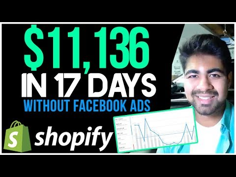 $11,136 In 17 Days WITHOUT Facebook Ads | Full Aliexpress Dropshipping Strategy Revealed thumbnail