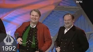 Hauk og Knut Buen vinner Årets Folkemusikk/Gammaldans (Spellemannprisen 1992)
