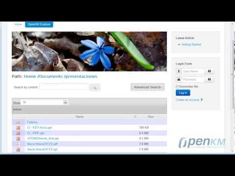 OpenKM - Joomla Explorer ( Spanish )