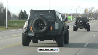Spied: 2022 Bronco Warthog Sights & Sounds (Engine + Exhaust)!