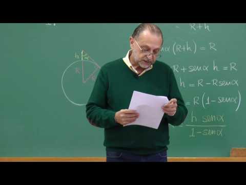 Cálculos de Astronomia - parte 2 - gravado em 30.04.2016