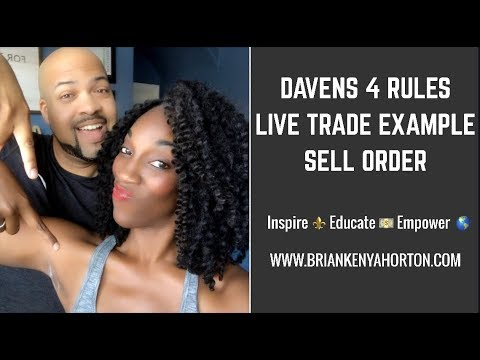 Davens 4 rules forex