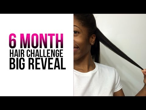 6 Month Hair Challenge Results | SistaWithRealHair Contest