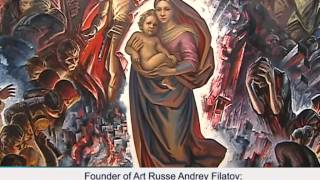 Kultura TV Channel (Russia) about Art Russe Exhibition in Abu Dhabi, UAE