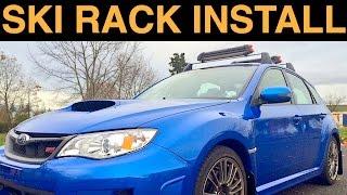 Subaru Wrx Sti - Roof Rack & Ski Rack Installation