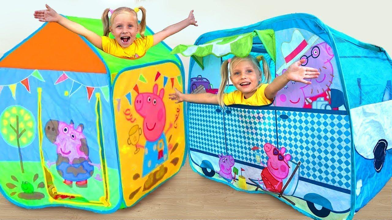 Алиса и волшебный домик Свинка Пеппа для детей